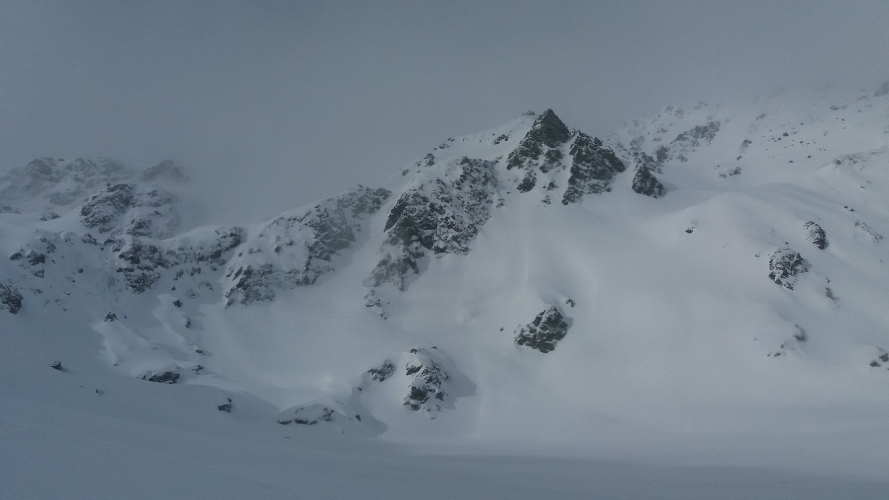 Vista verso il Galehorn