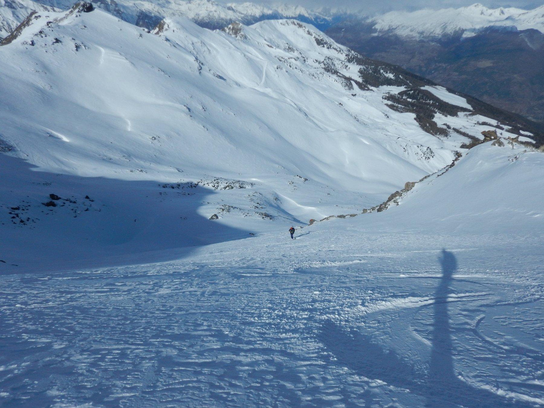 bella neve sotto al colle