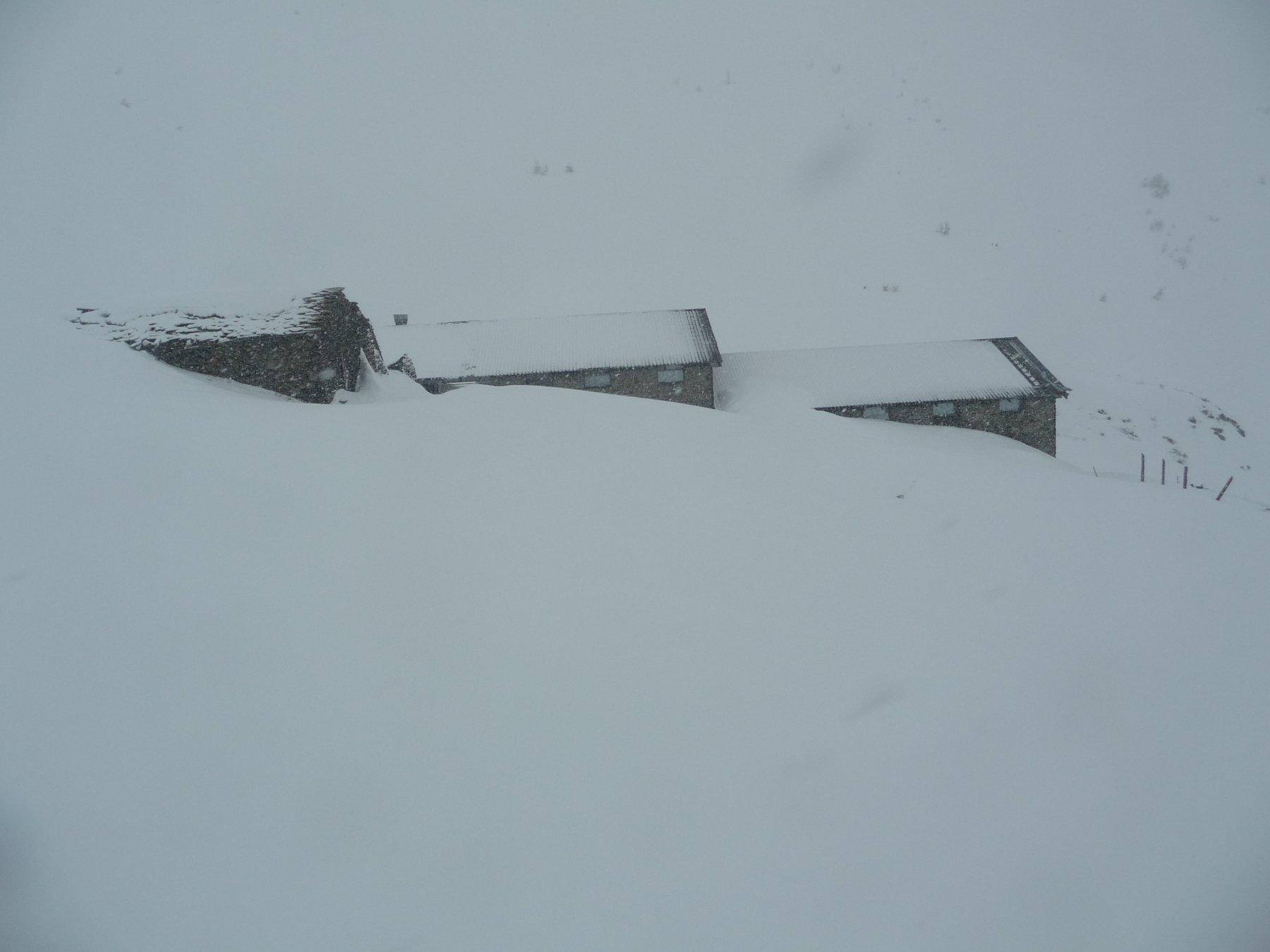 Alle baite nevica