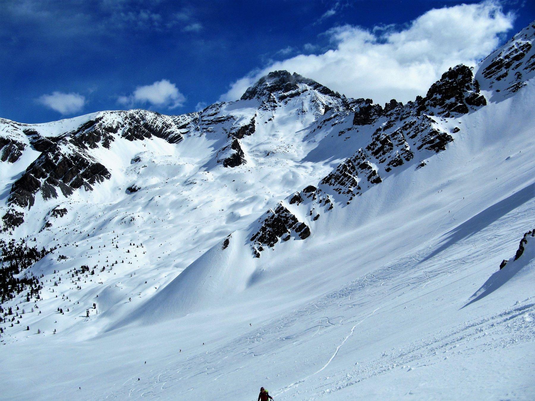 Verso il Pic de Rochebrune e Col des Portes
