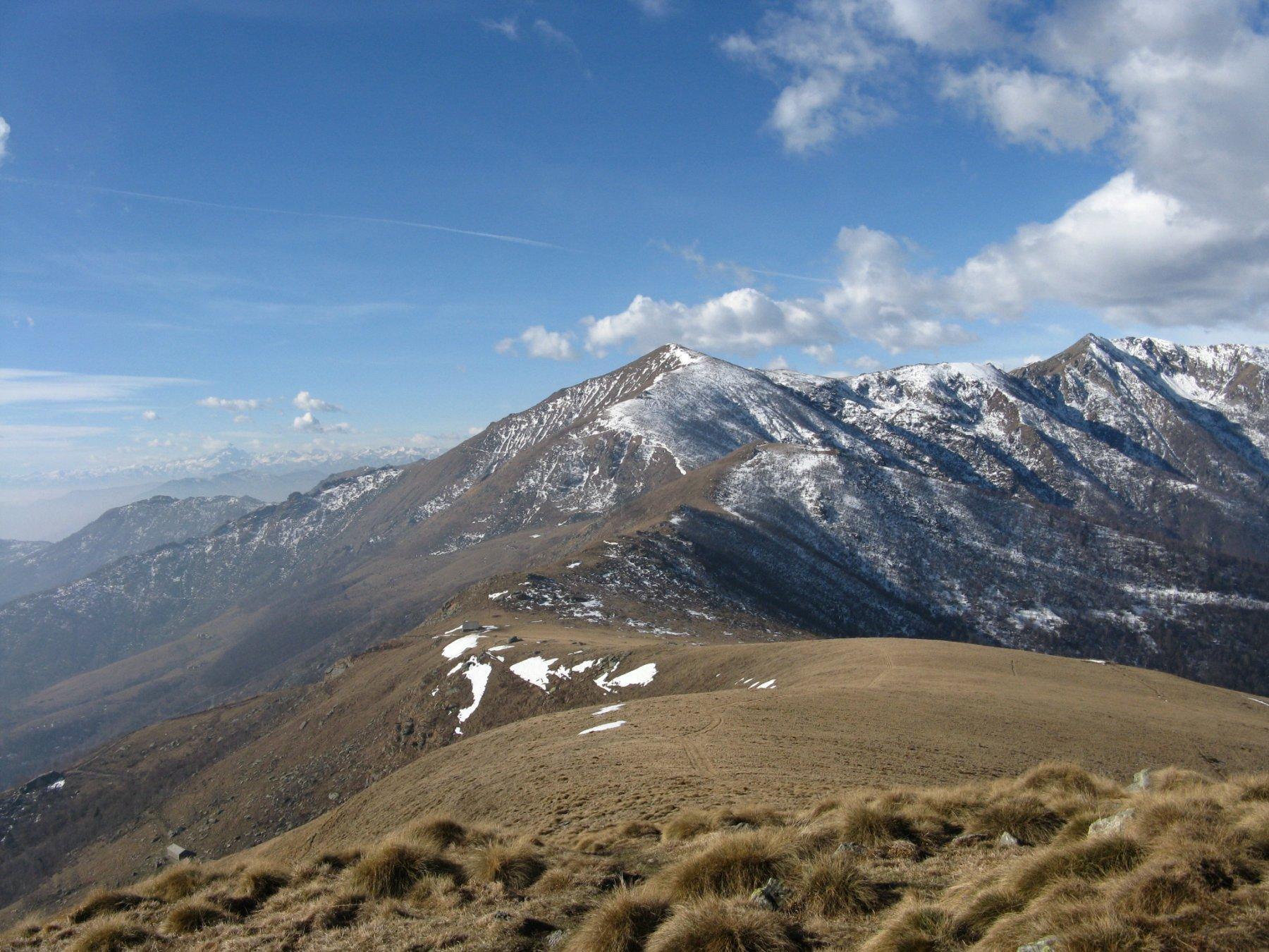 vista verso il Monte Soglio