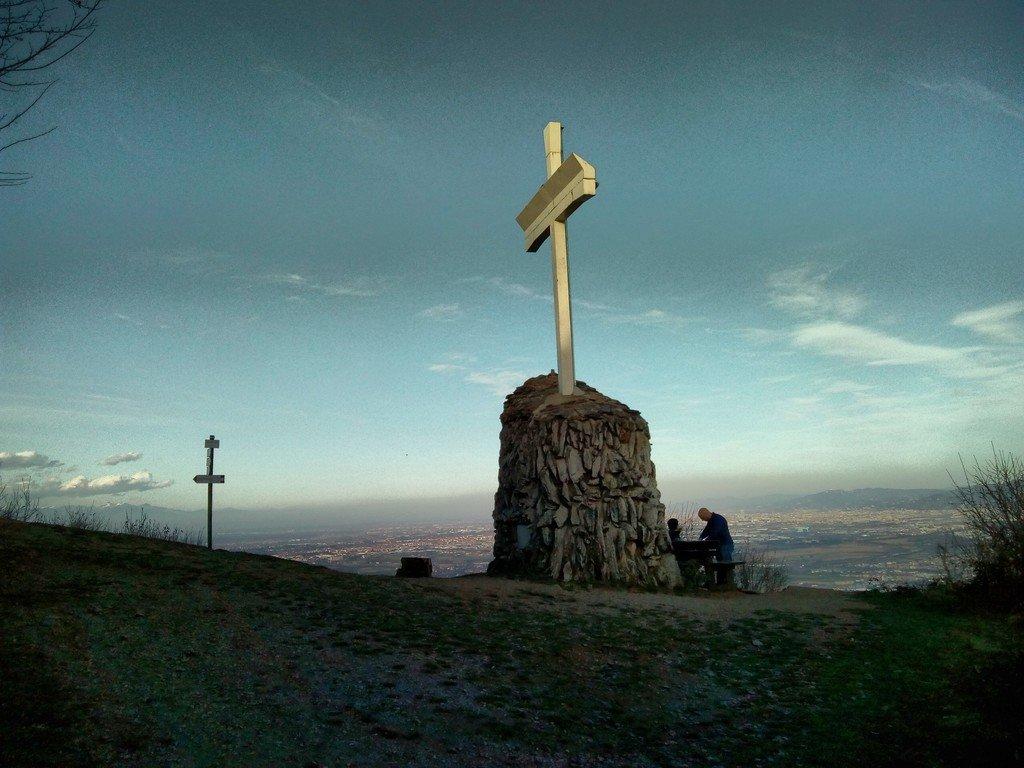 Croce di vetta del Monte San Giorgio