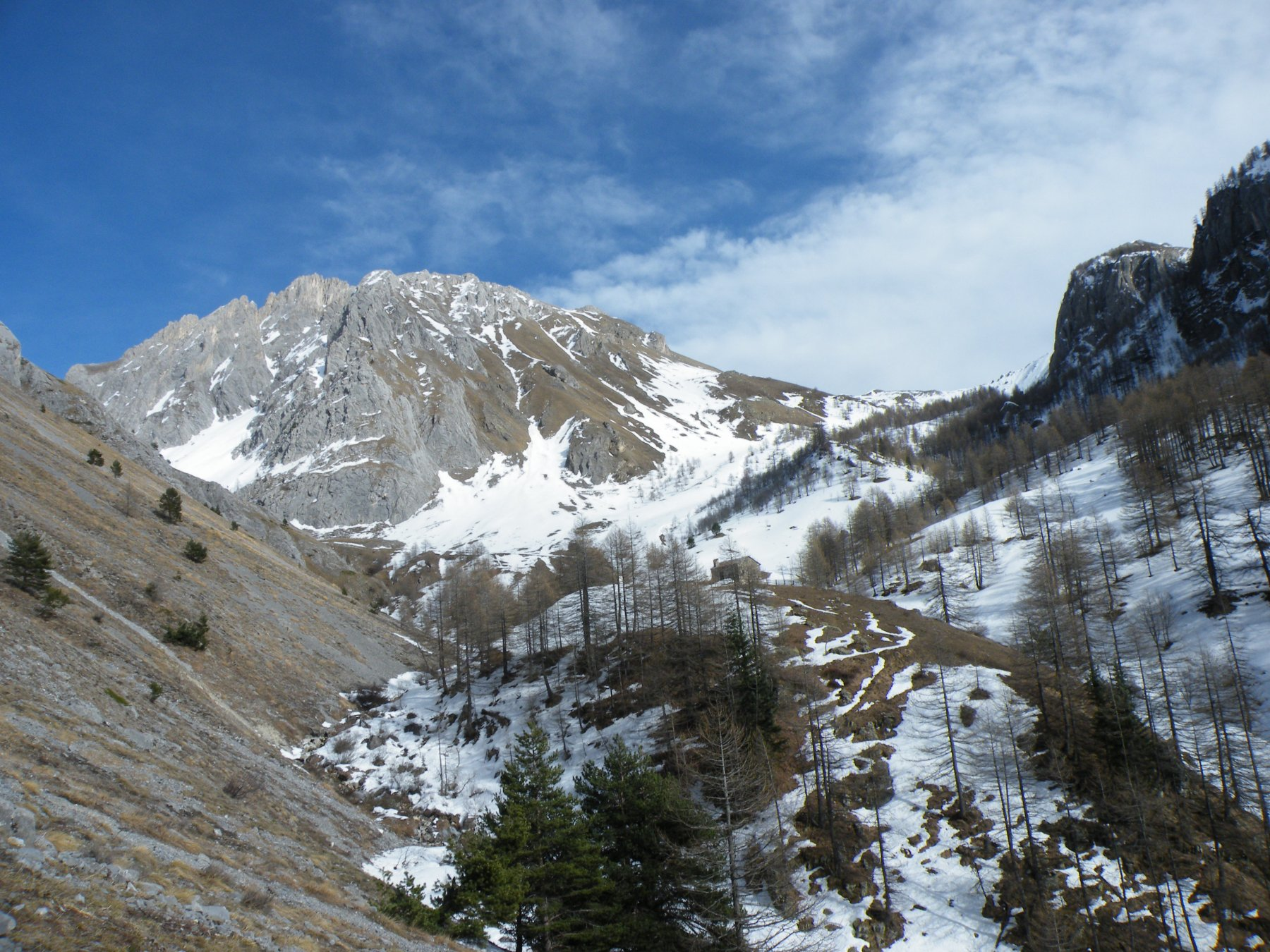 Salè (Monte) da Sambuco per il Vallone della Madonna e il versante SO 2019-03-10