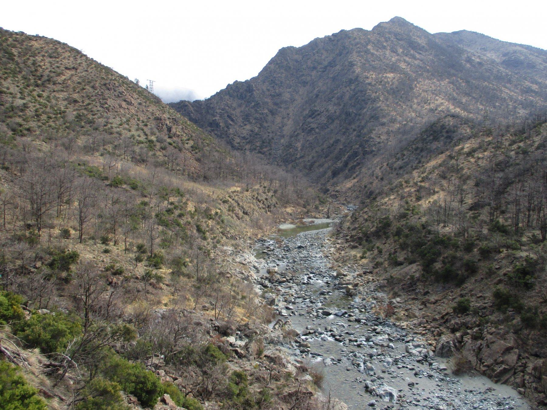 Rio Gorzente e Cresta Nord del Tugello
