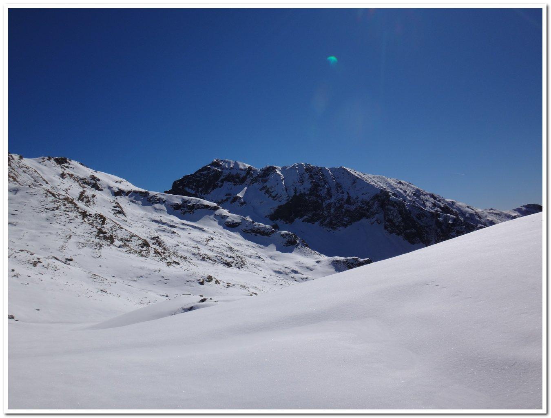 Il monte Capio dalla bocchetta