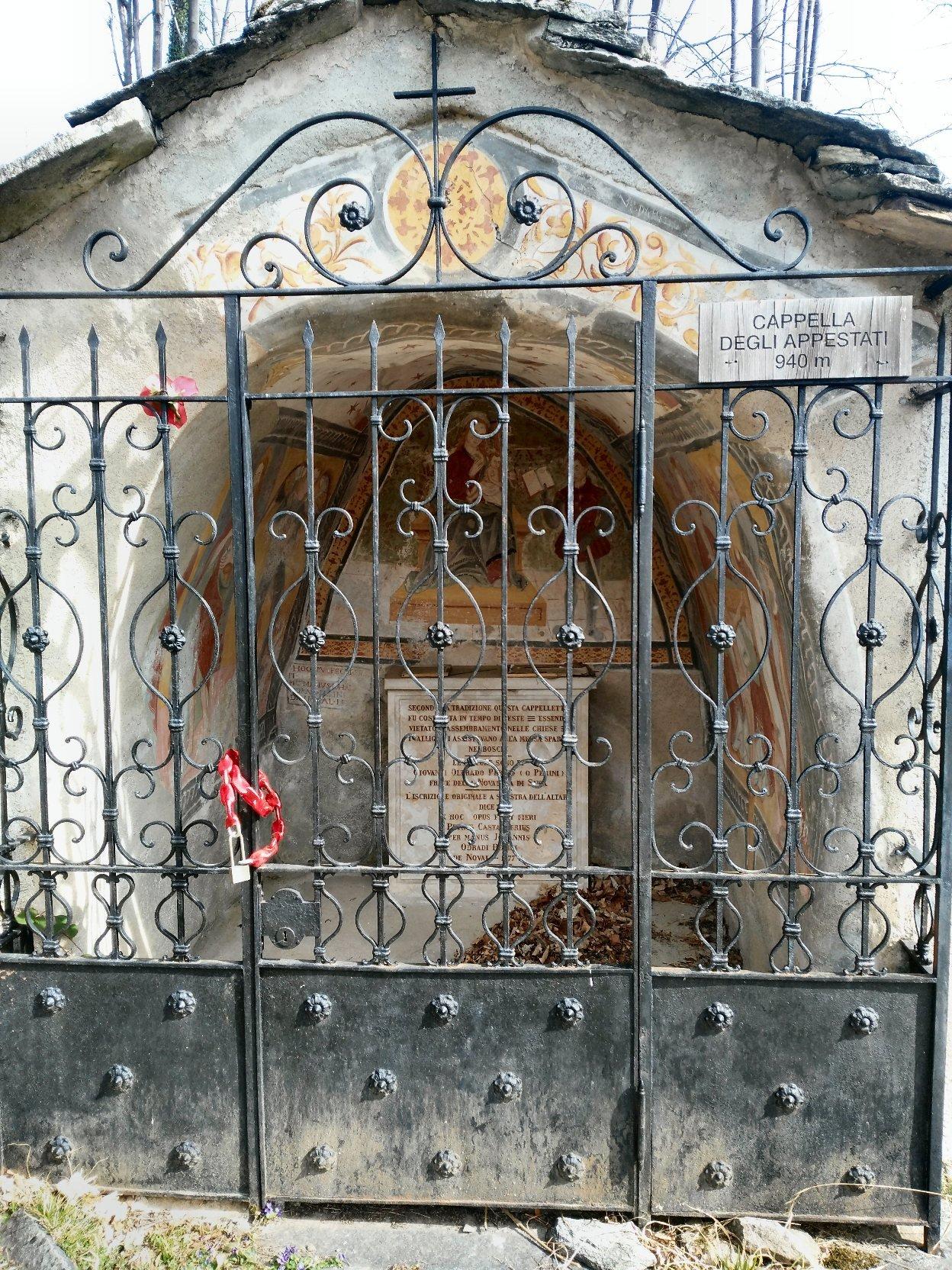 Cappella degli appestati.