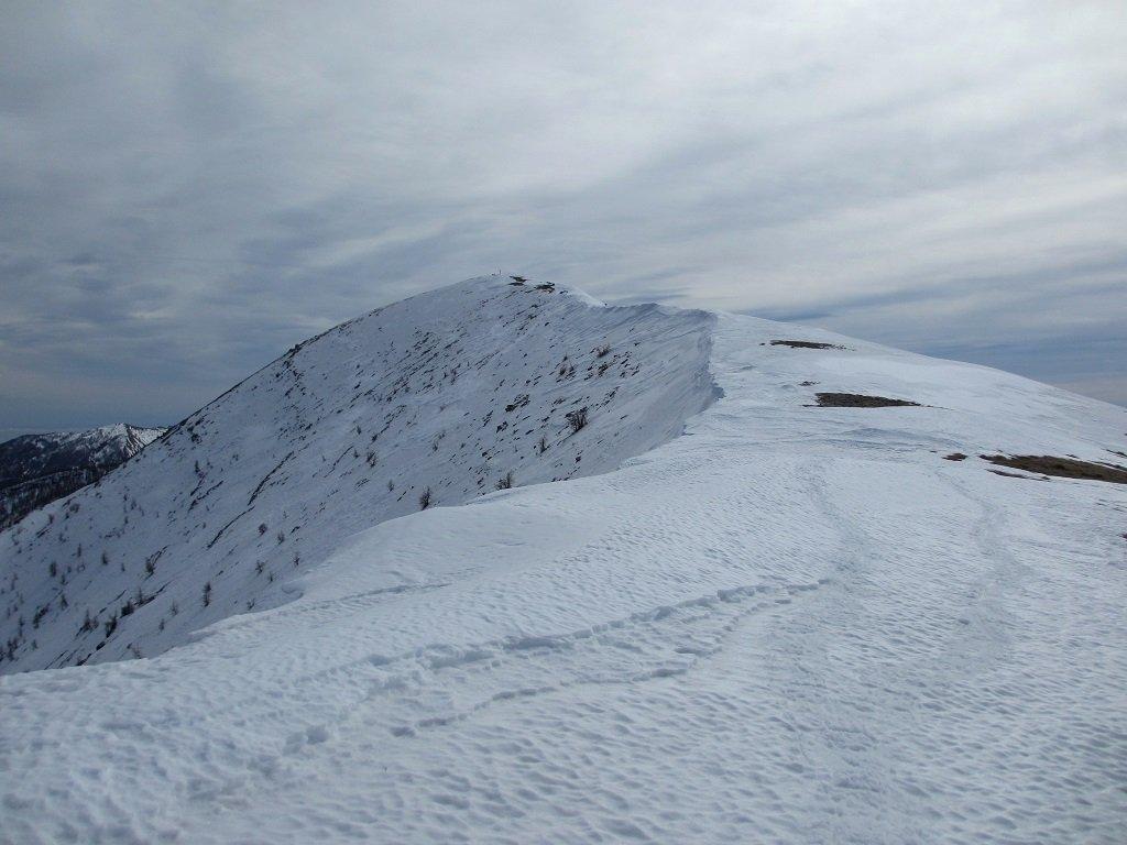 Il monte Bertrand visto da nord