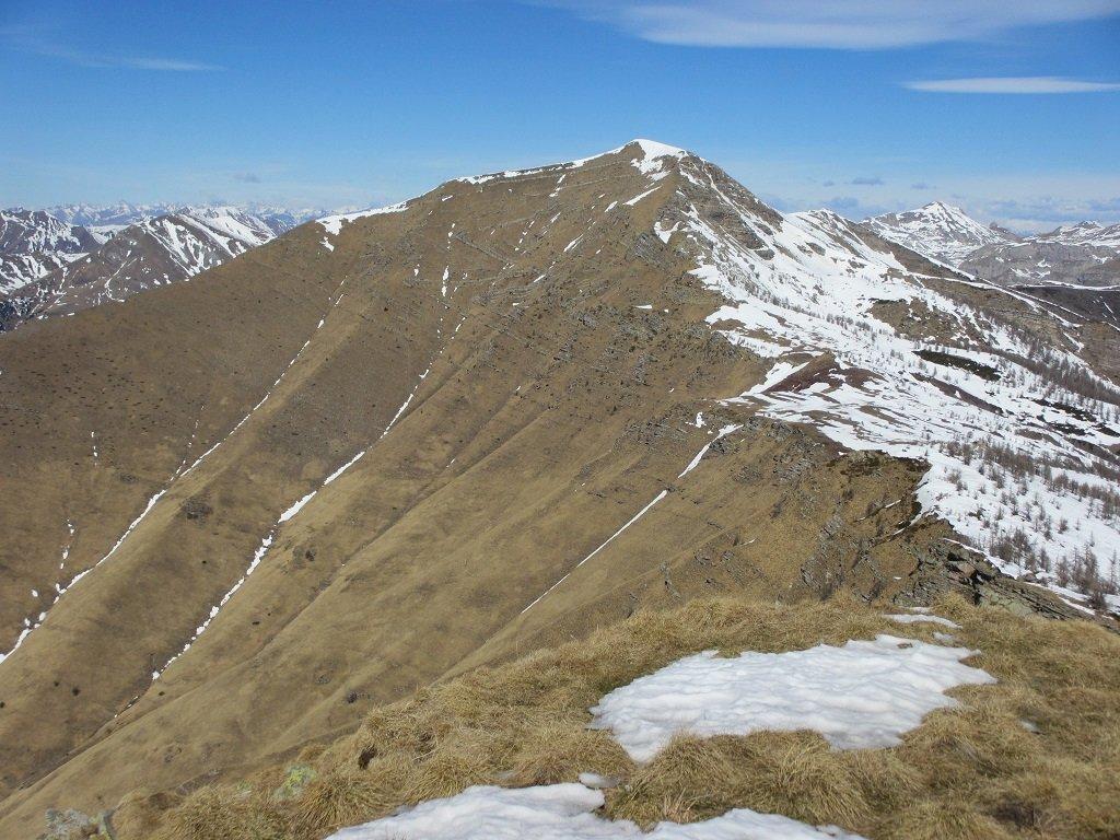 Bertrand visto dalla cima Missun