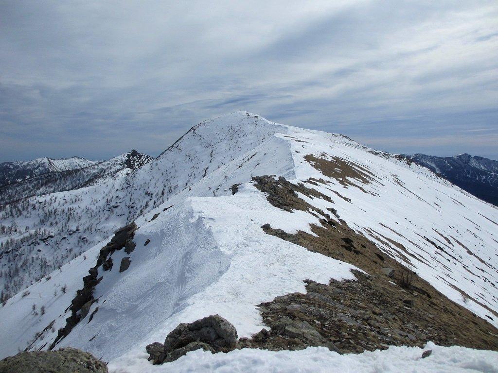 Il Bertrand dalla cima di Velega