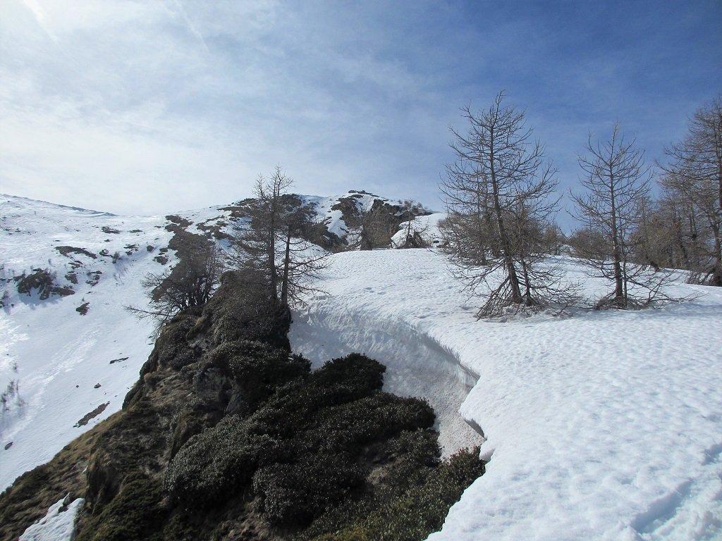 Il versante est del Velega