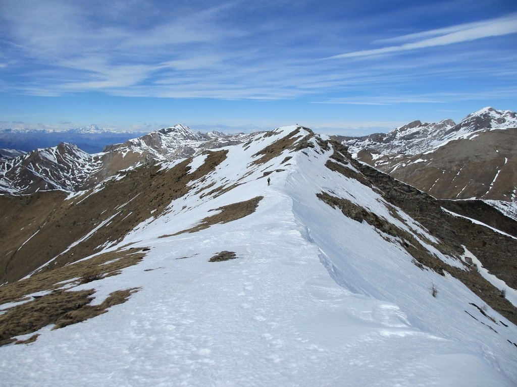 La cima di Velega dal Bertrand