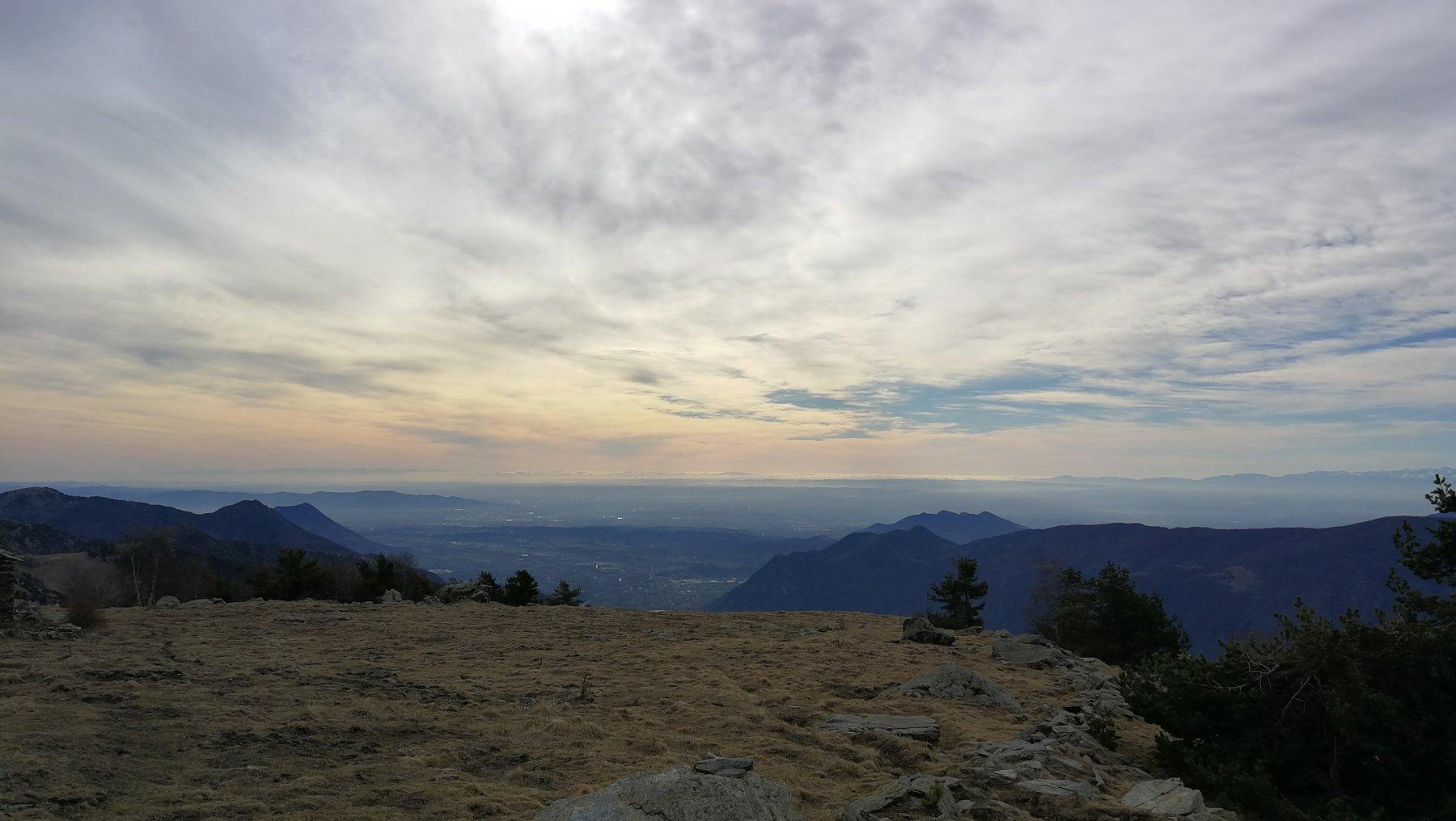 il panorama dall'Alpe Formica