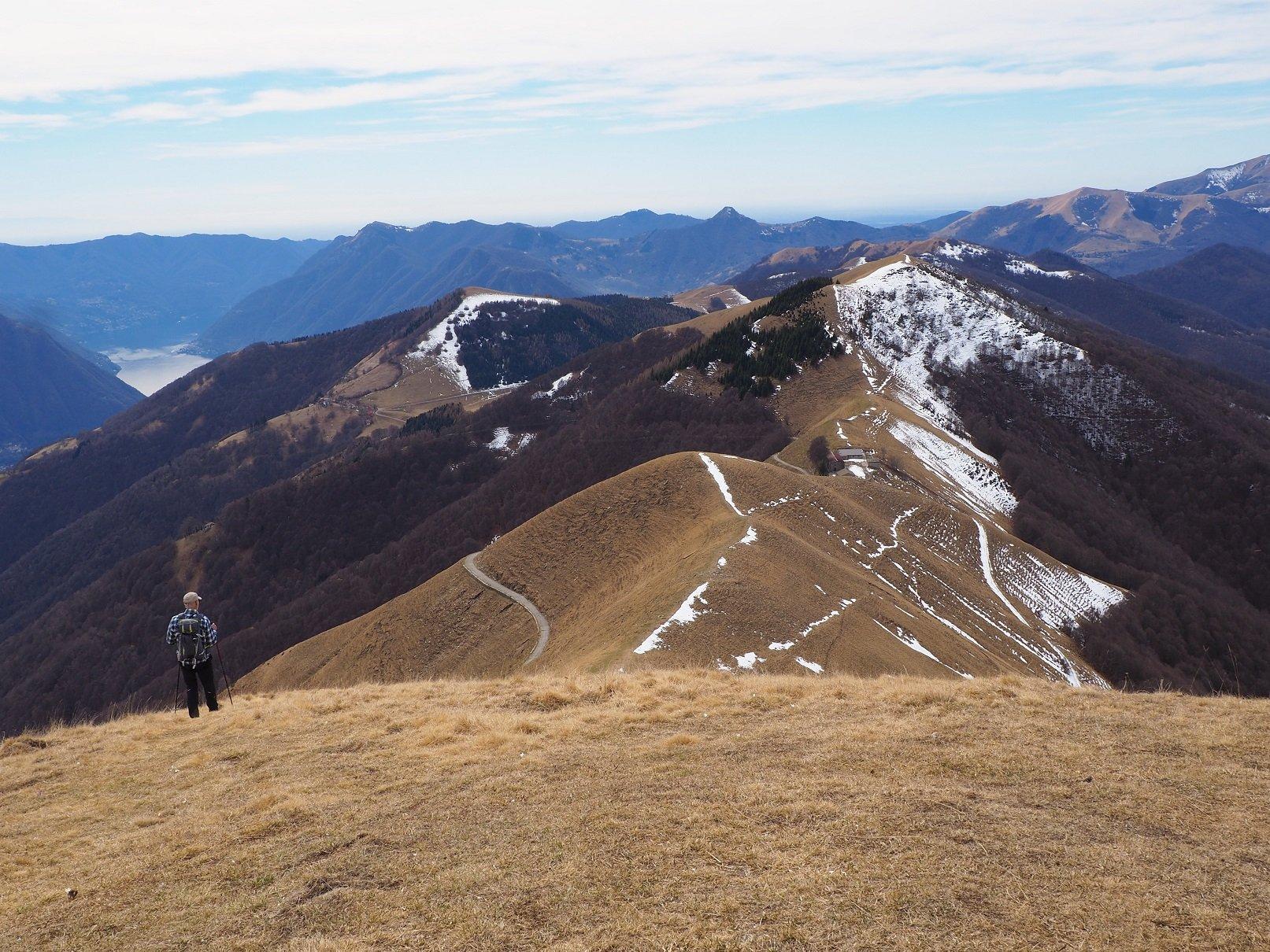 Tremezzo (Monti di) dal Rifugio Boffalora 2019-03-16