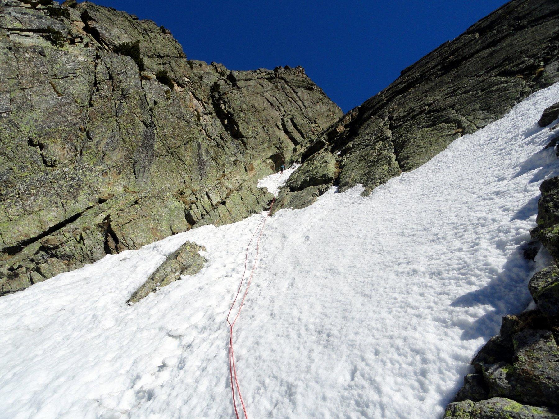 parte alta in neve e misto