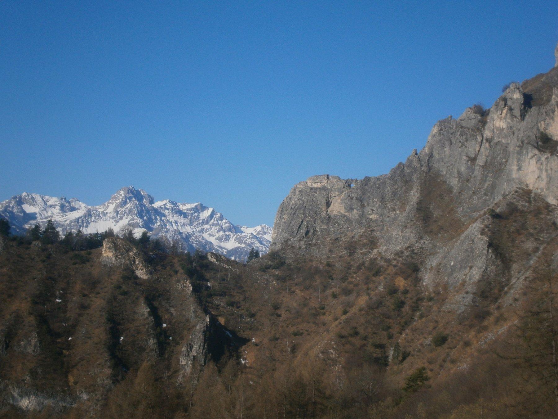 la finestra di rocca Pertus