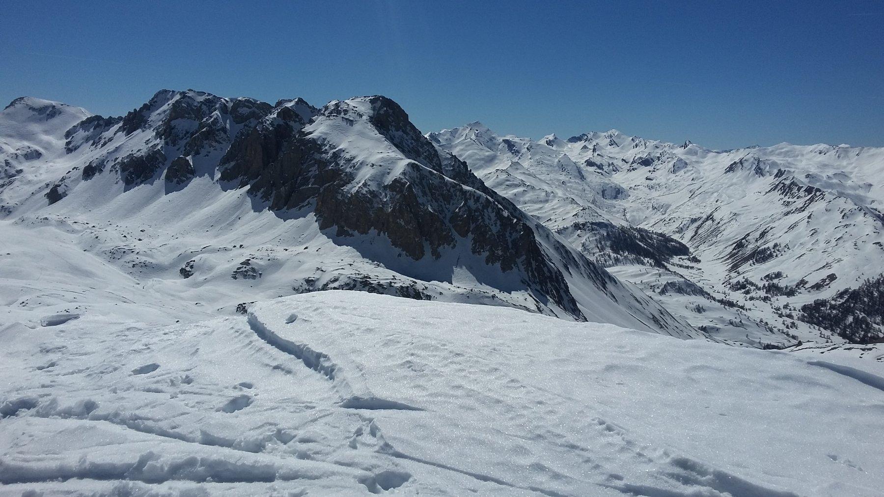 Panorama da col du Boeuf