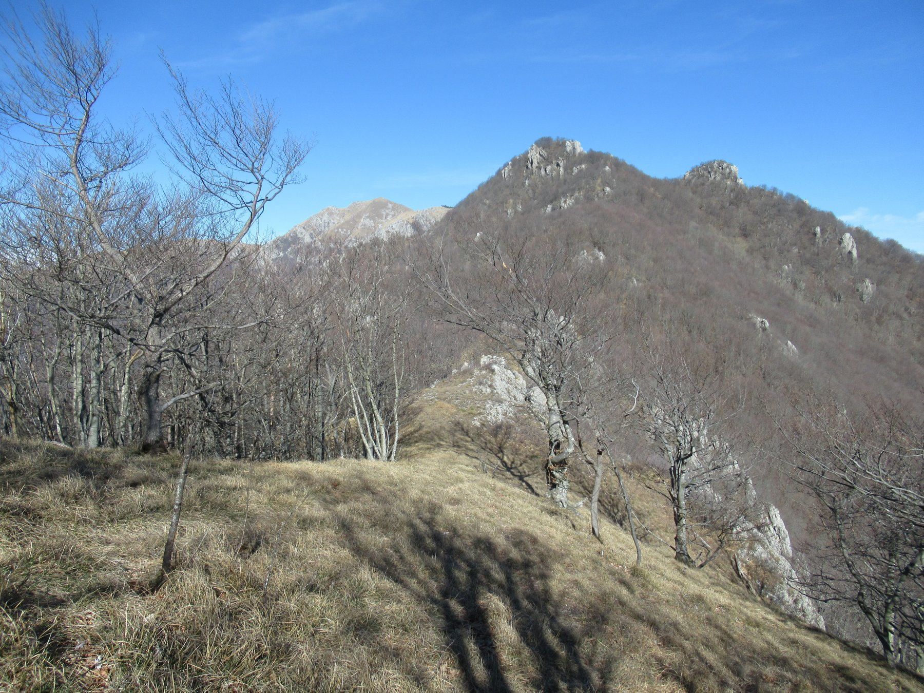 Uno sguardo sul Monte Galero dal Monte delle Gettine