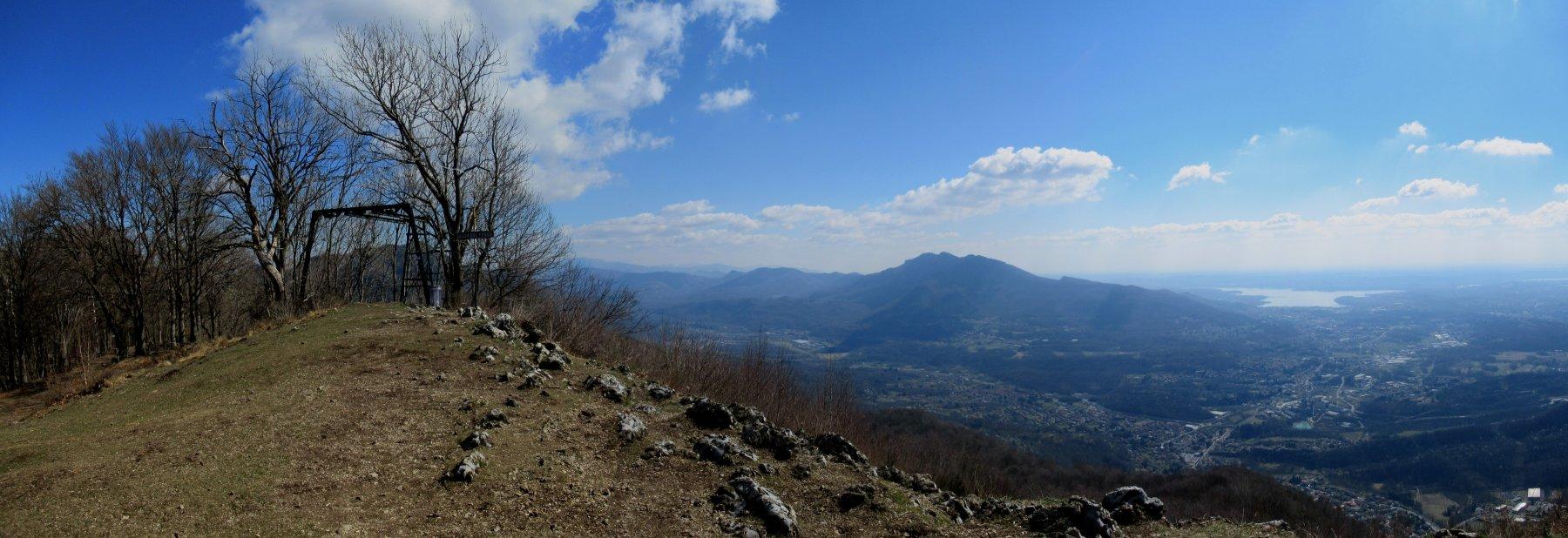 Panorama verso il Lago di Varese