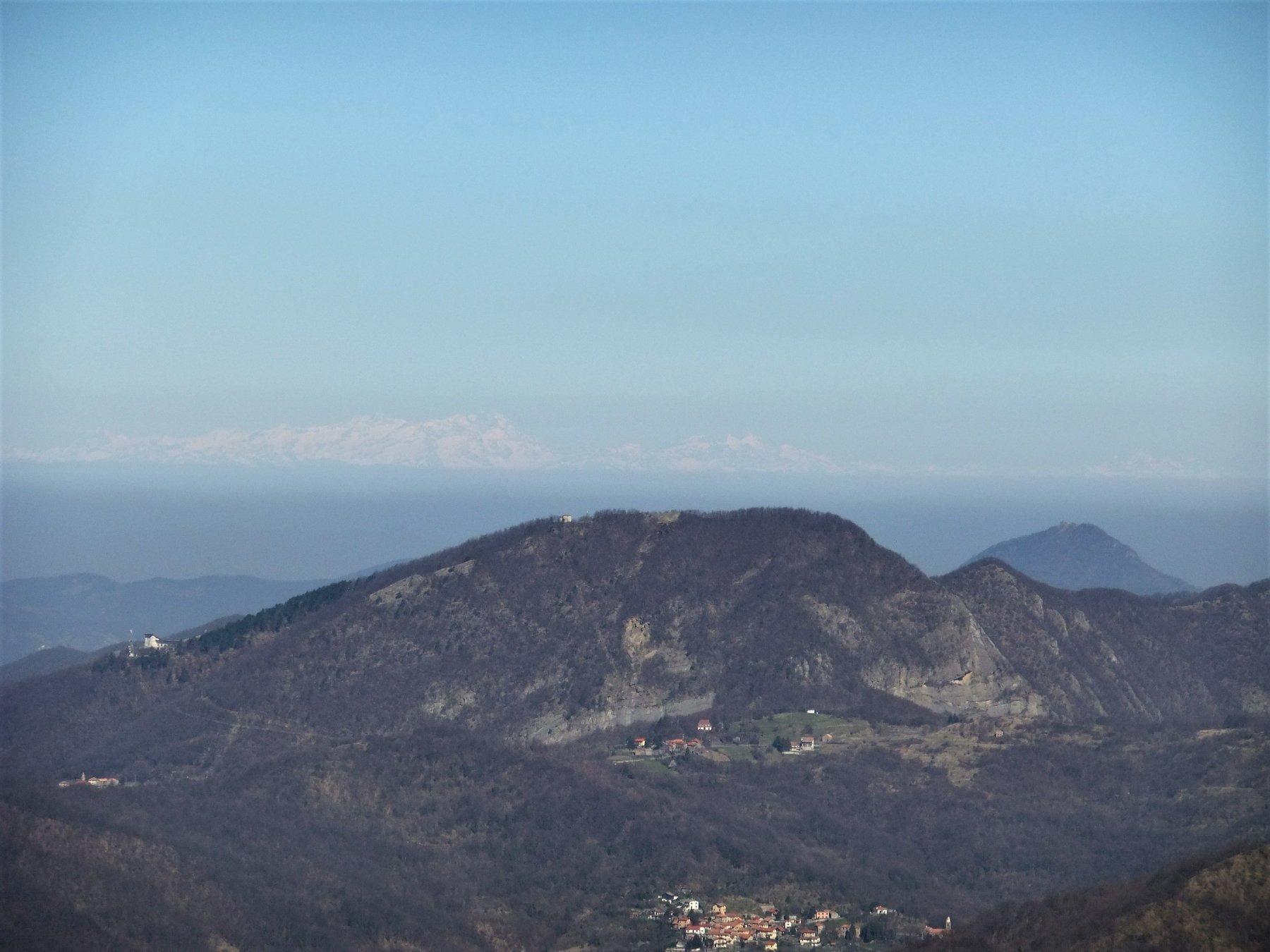 Il Monte Rosa dal Bano