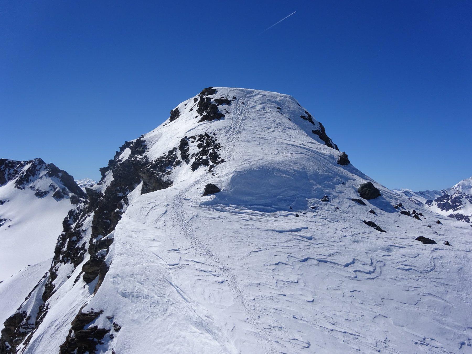 Cima di Entrelor dalla cima sci-alpinistica