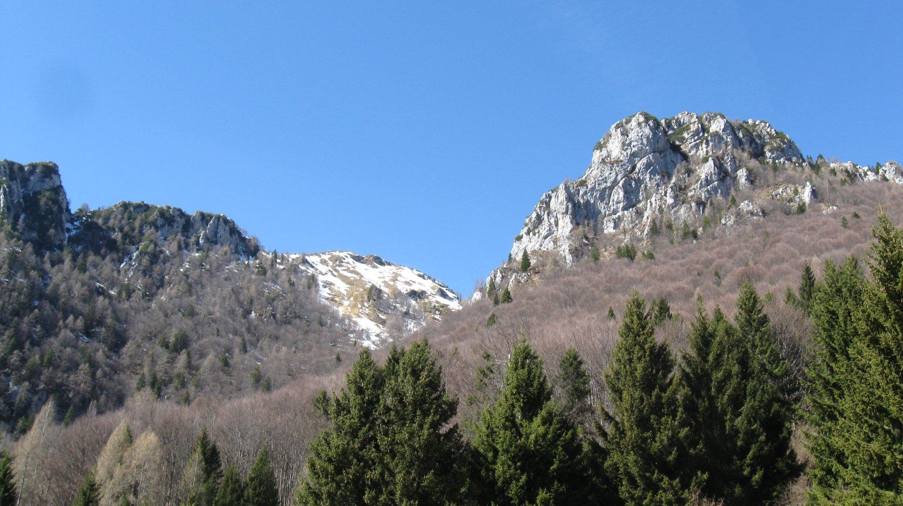 verso forcella Val de Forscia