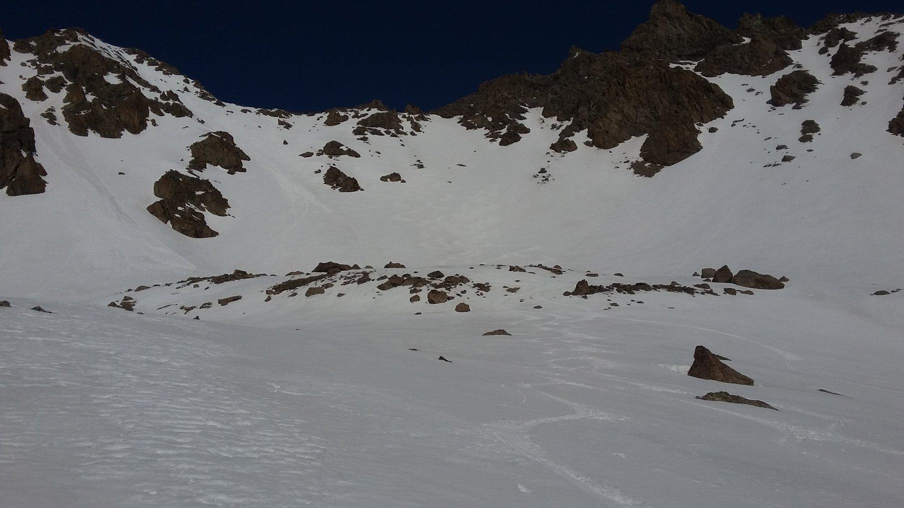 Pic du Lac a sinistra