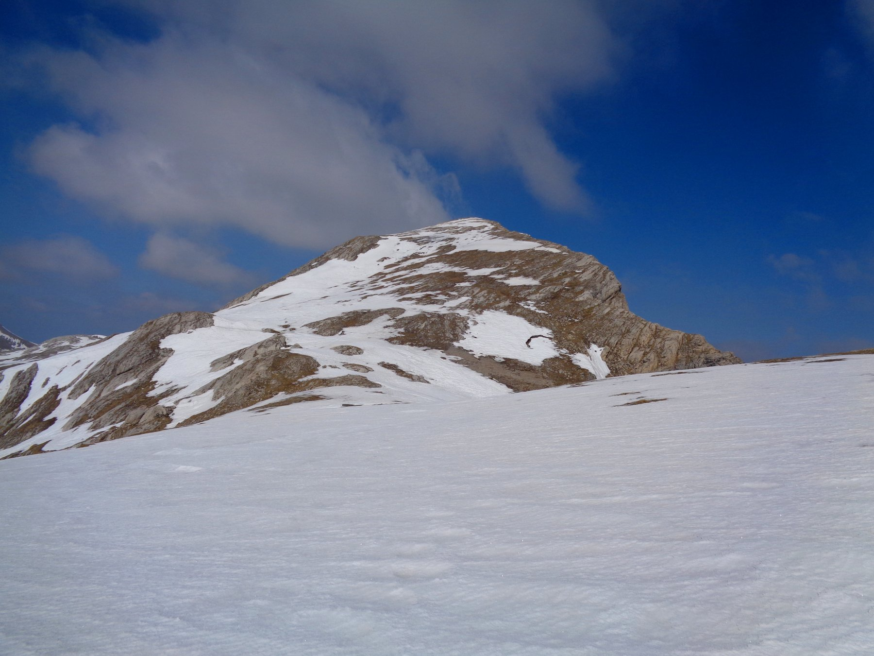 La cima da 2400m