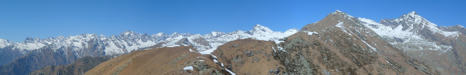 Panorama dal monte Arzola