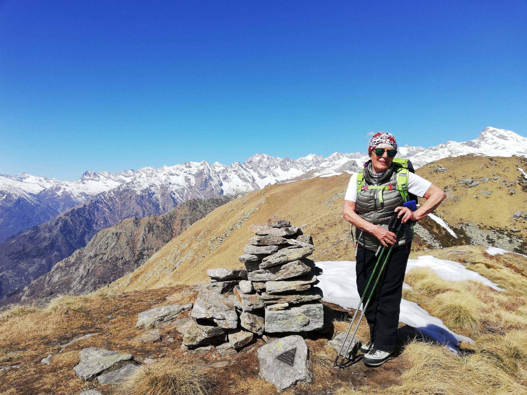 Monte Arzola 2162 m.