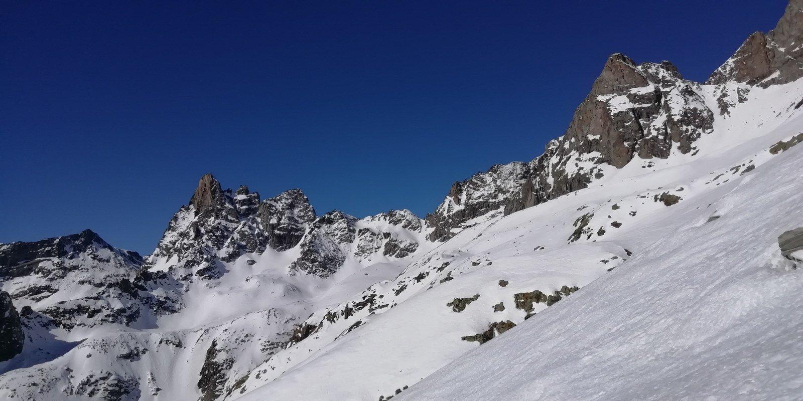 Gran panorama dal ghiacciaio