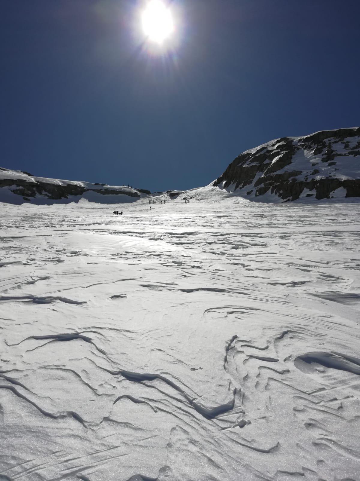 Skialper al deposito sci