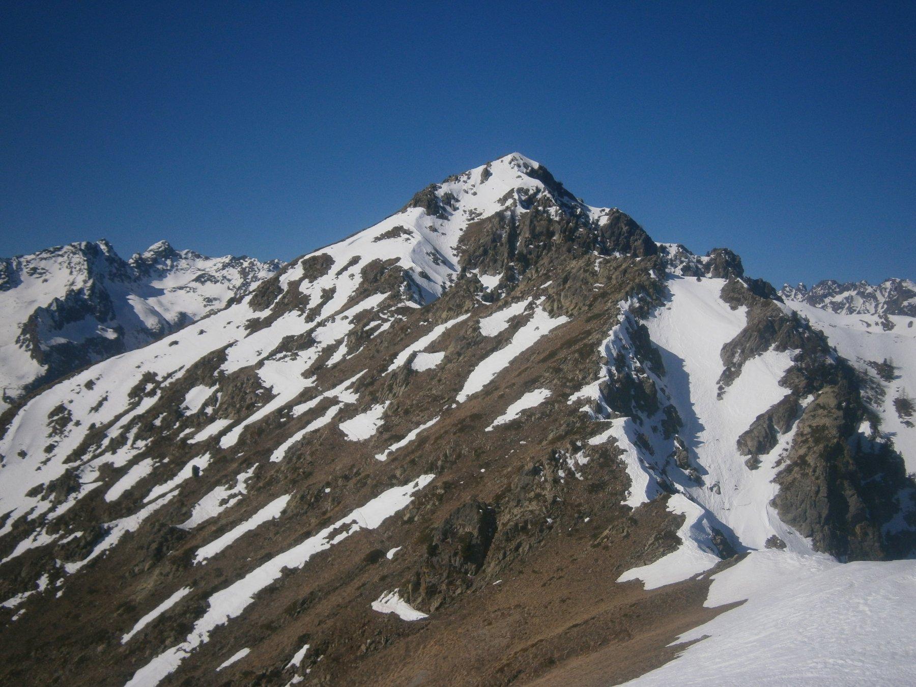 Cresta verso la Testa di Costabella