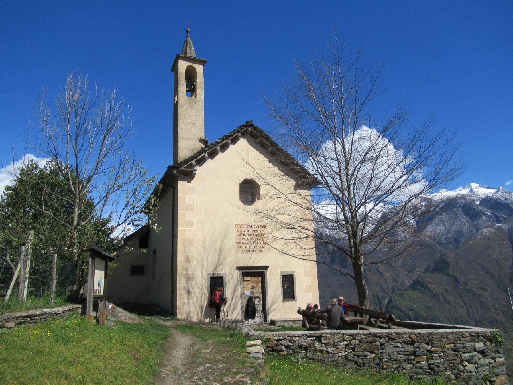Anzuno Oratorio di Sant'Antonio