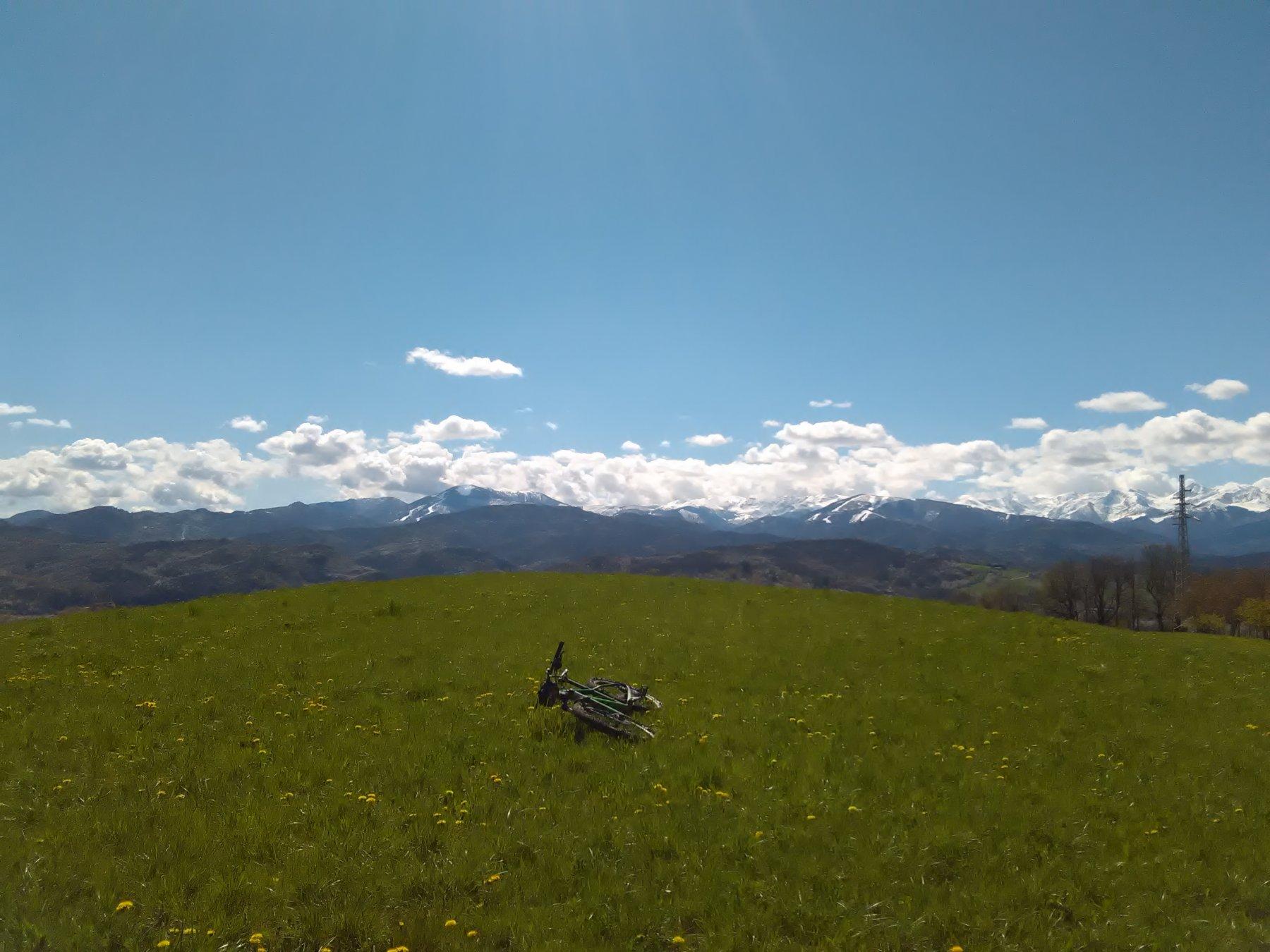 Dal Bric della Guardia verso la Val Casotto