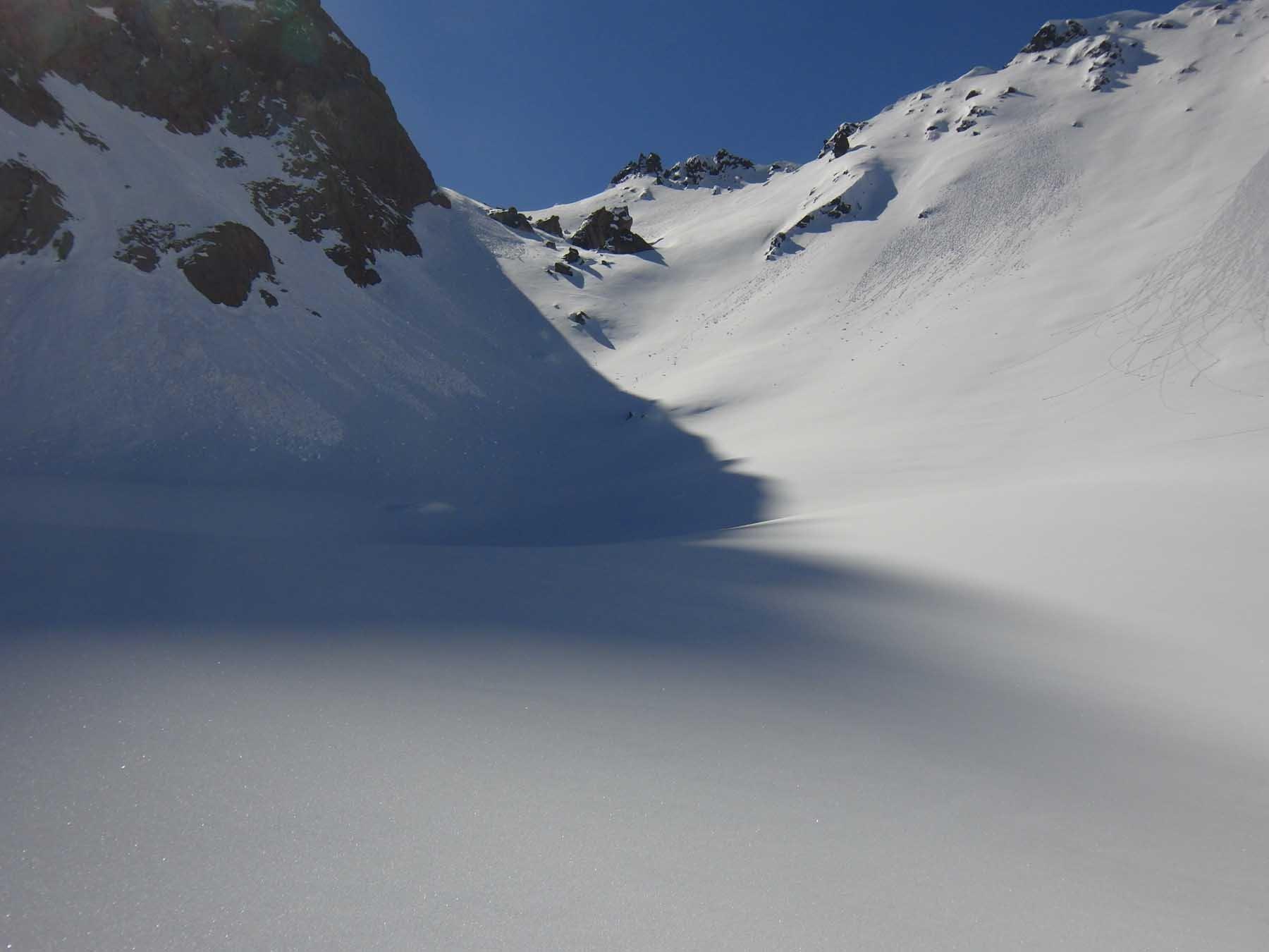 Col de Roche Noire senza tracce