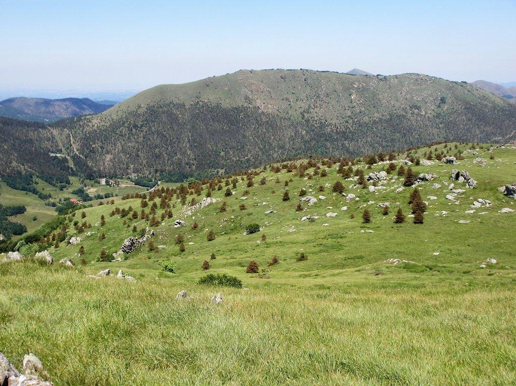 La Costa Lavezzara vista dal monte Poggio