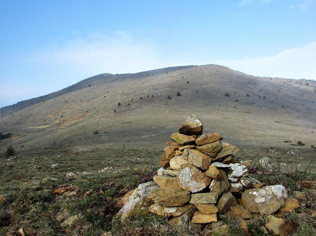 Dorsale nord del monte Poggio