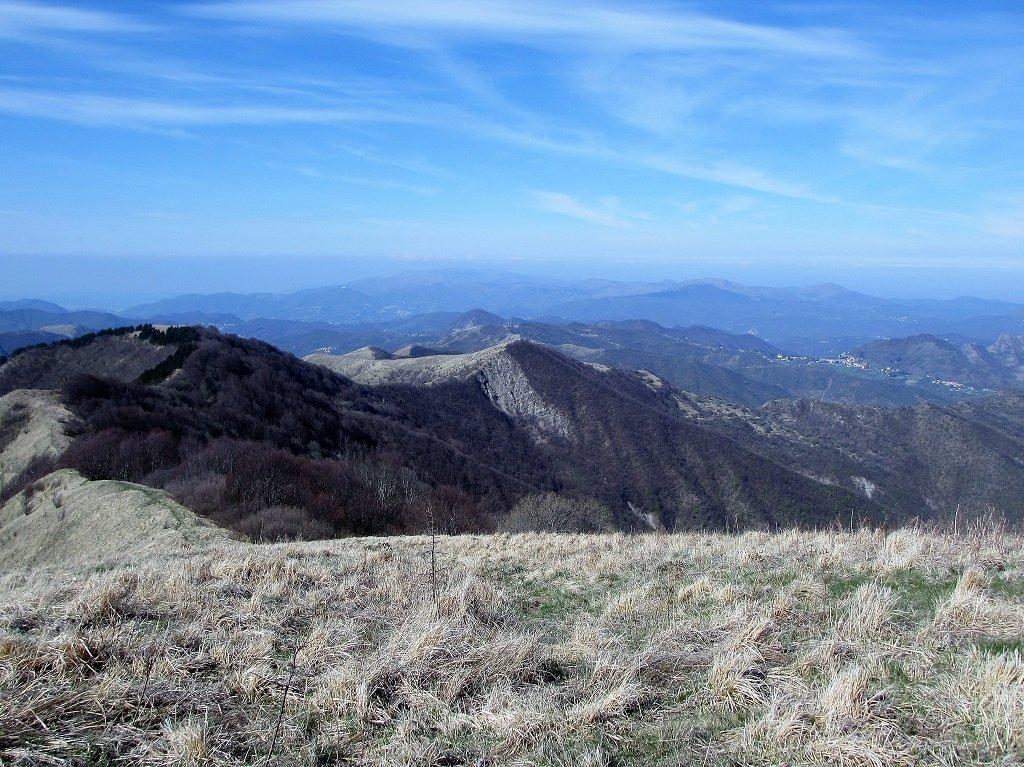 Dal monte Buio la dorsale