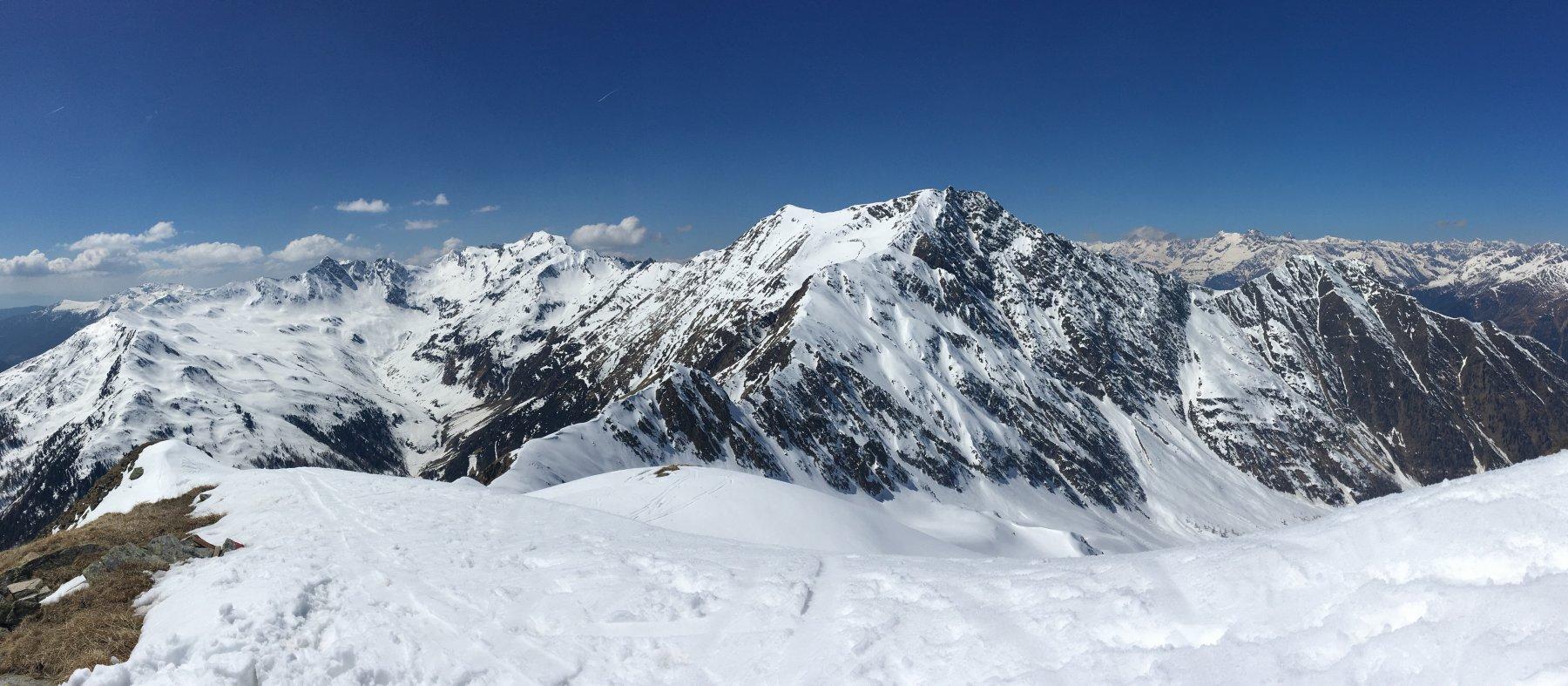 Alpe (Cima dell') o Alpenspitz da Wannserhof 2019-04-20
