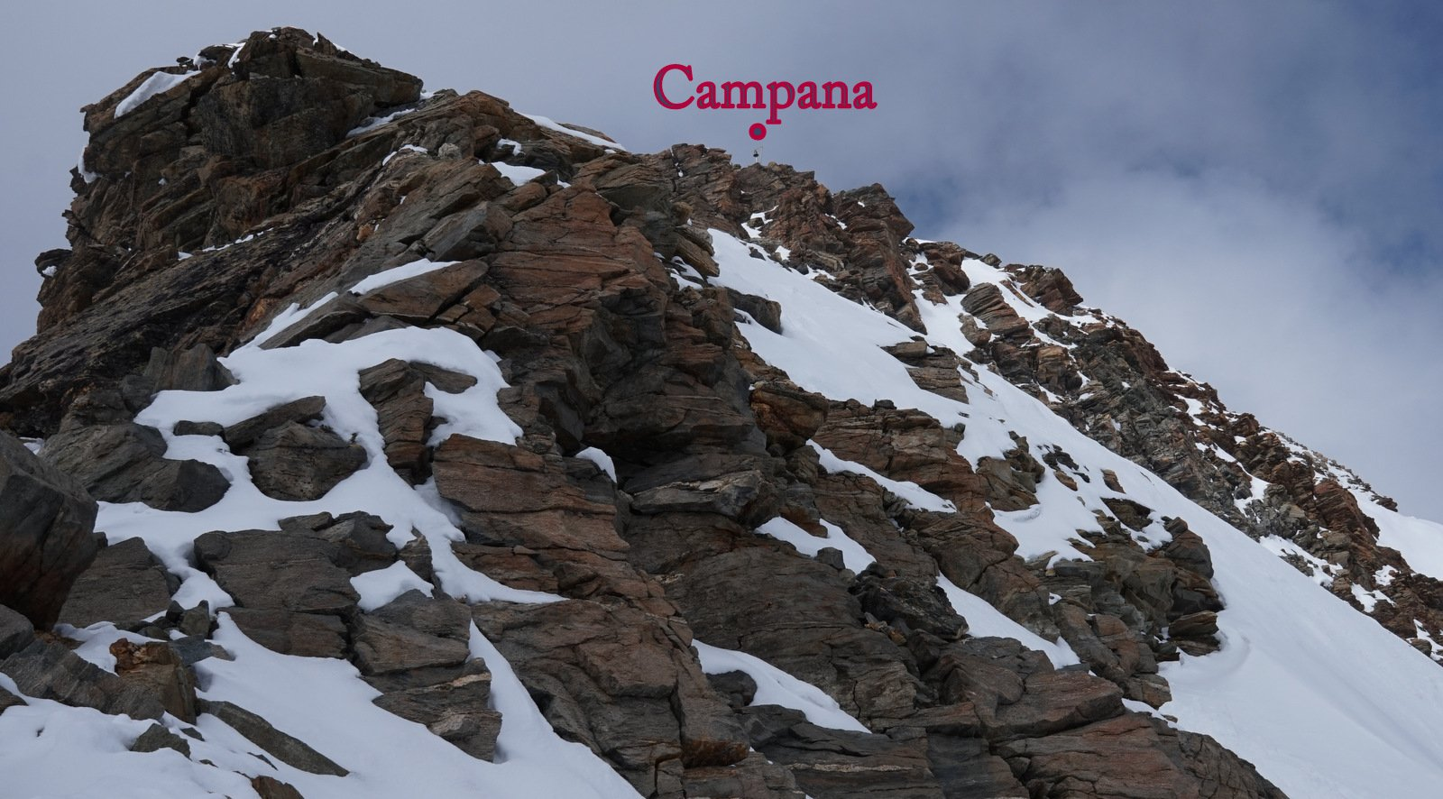 Parte alpinistica