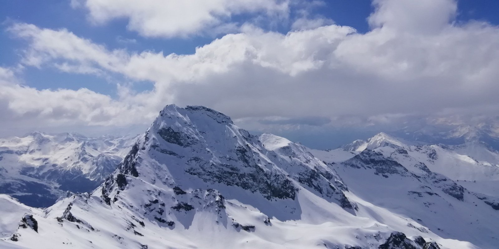 Il Gr.Tournalin visto dalla cima