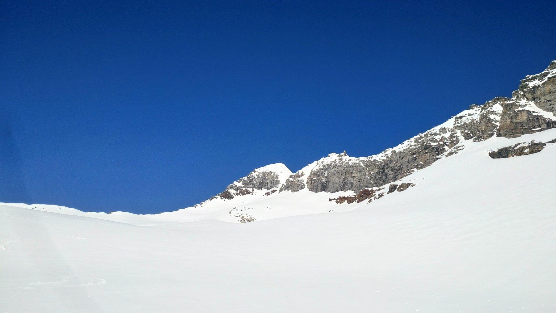 Zapporthorn più canalino acesso alla piccola cresta