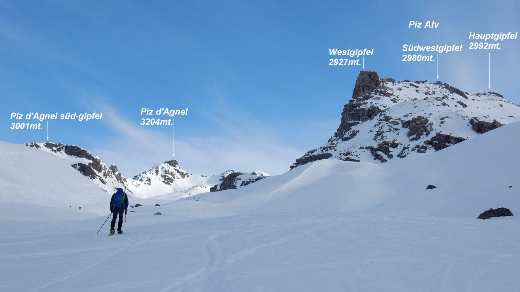 Salendo la Val d'Agnel  nella parte iniziale.