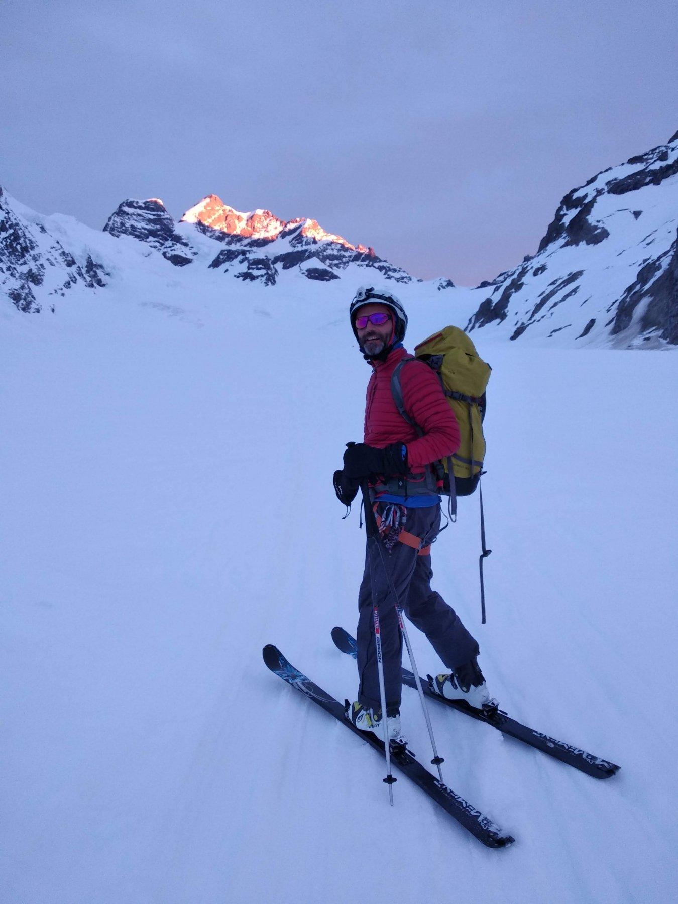 la Jungfrau sul retro