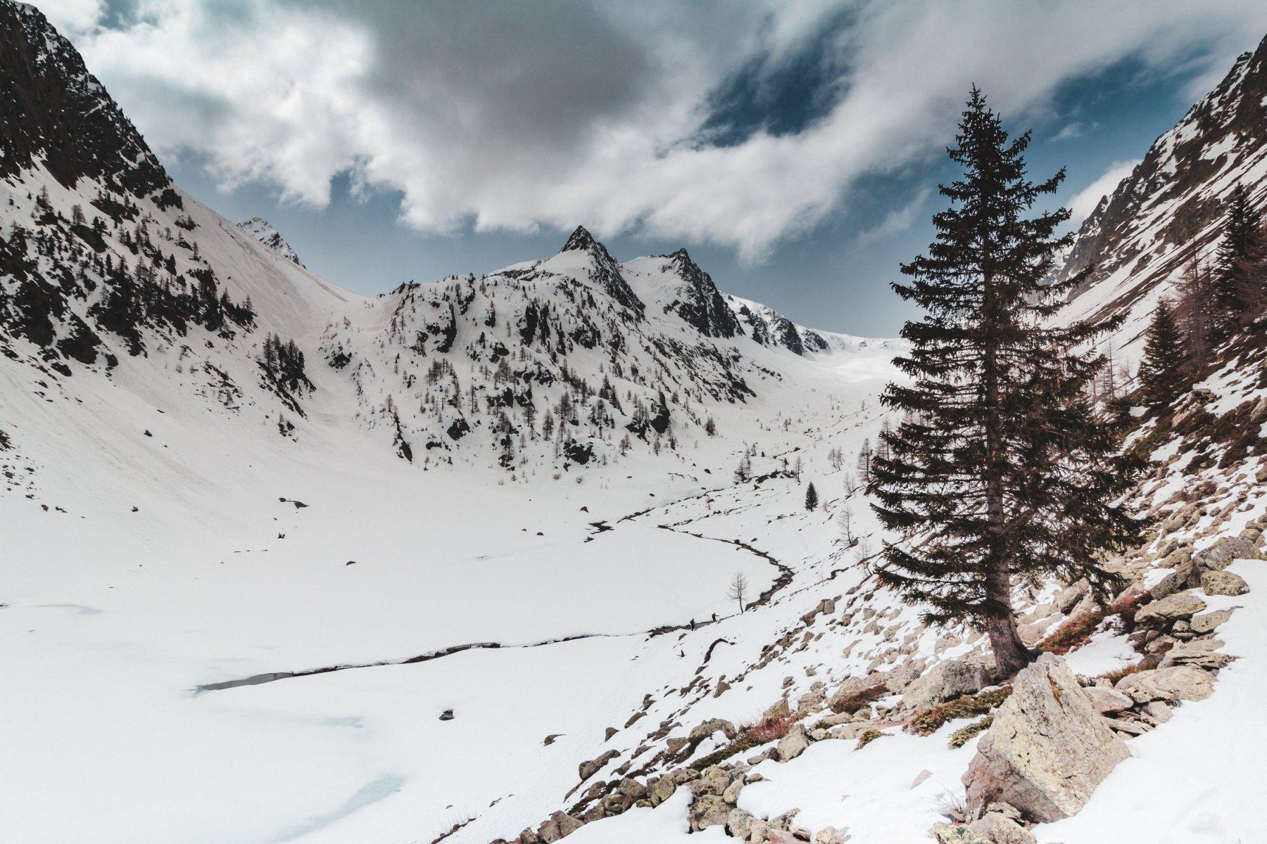 San Bernolfo (Lago di) da Strepeis 2019-04-22