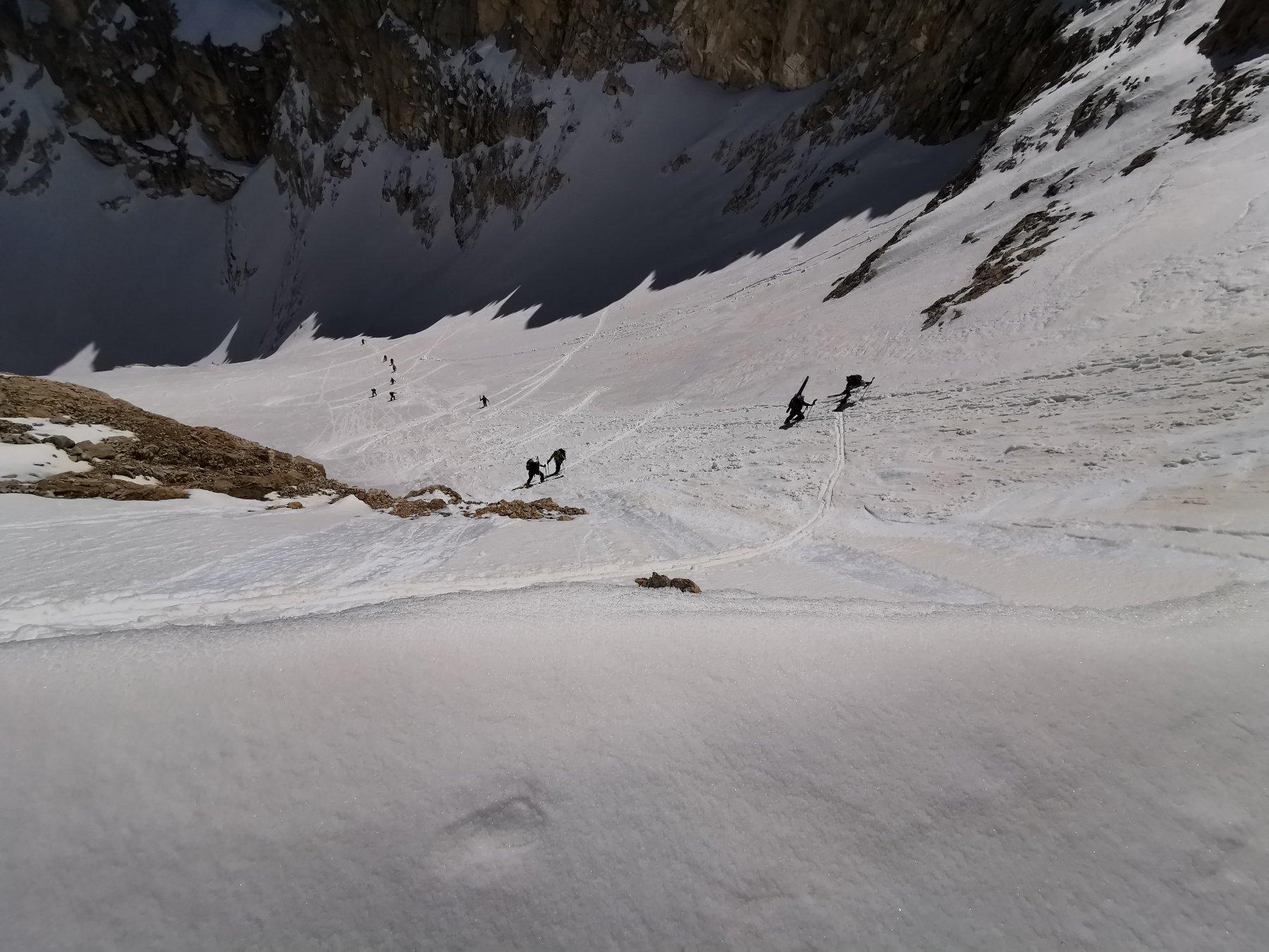 Salita al ghiacciaio del Calderone