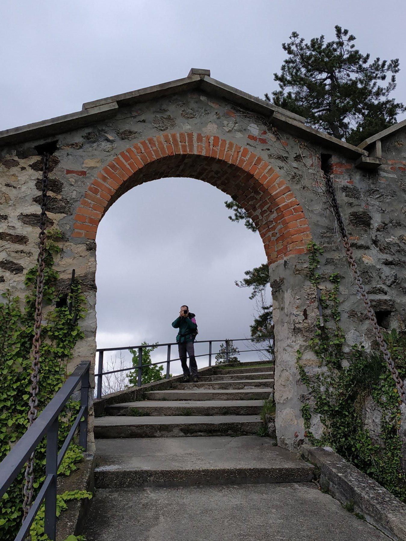 Antico ingresso del castello di Montemale.