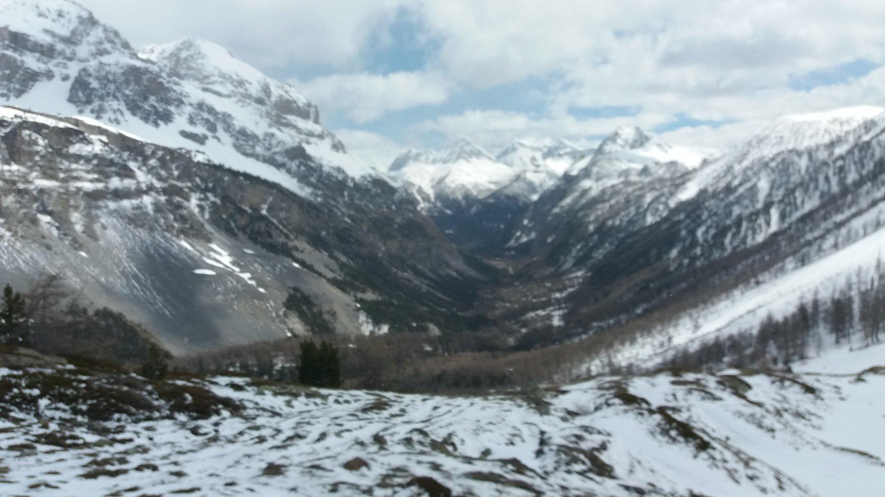 Panoramica sulla Valle Stretta