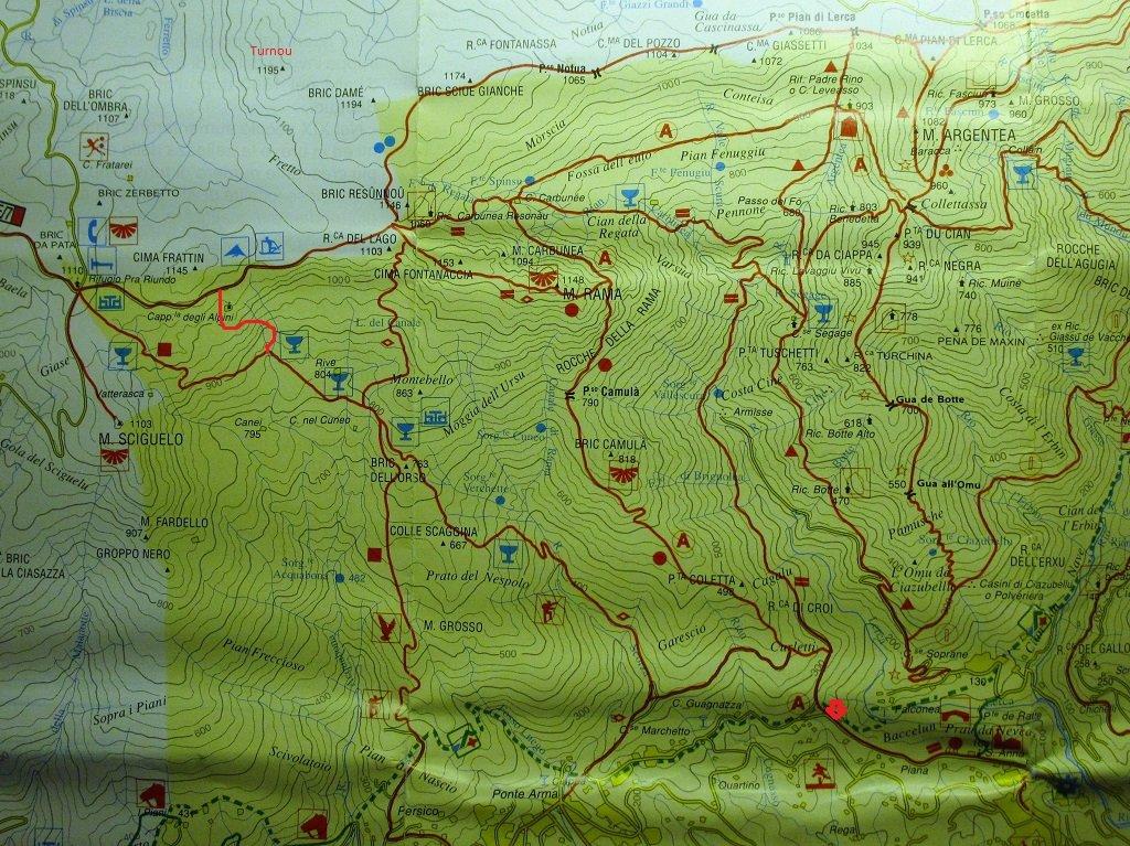 Cartina Comunita Montana
