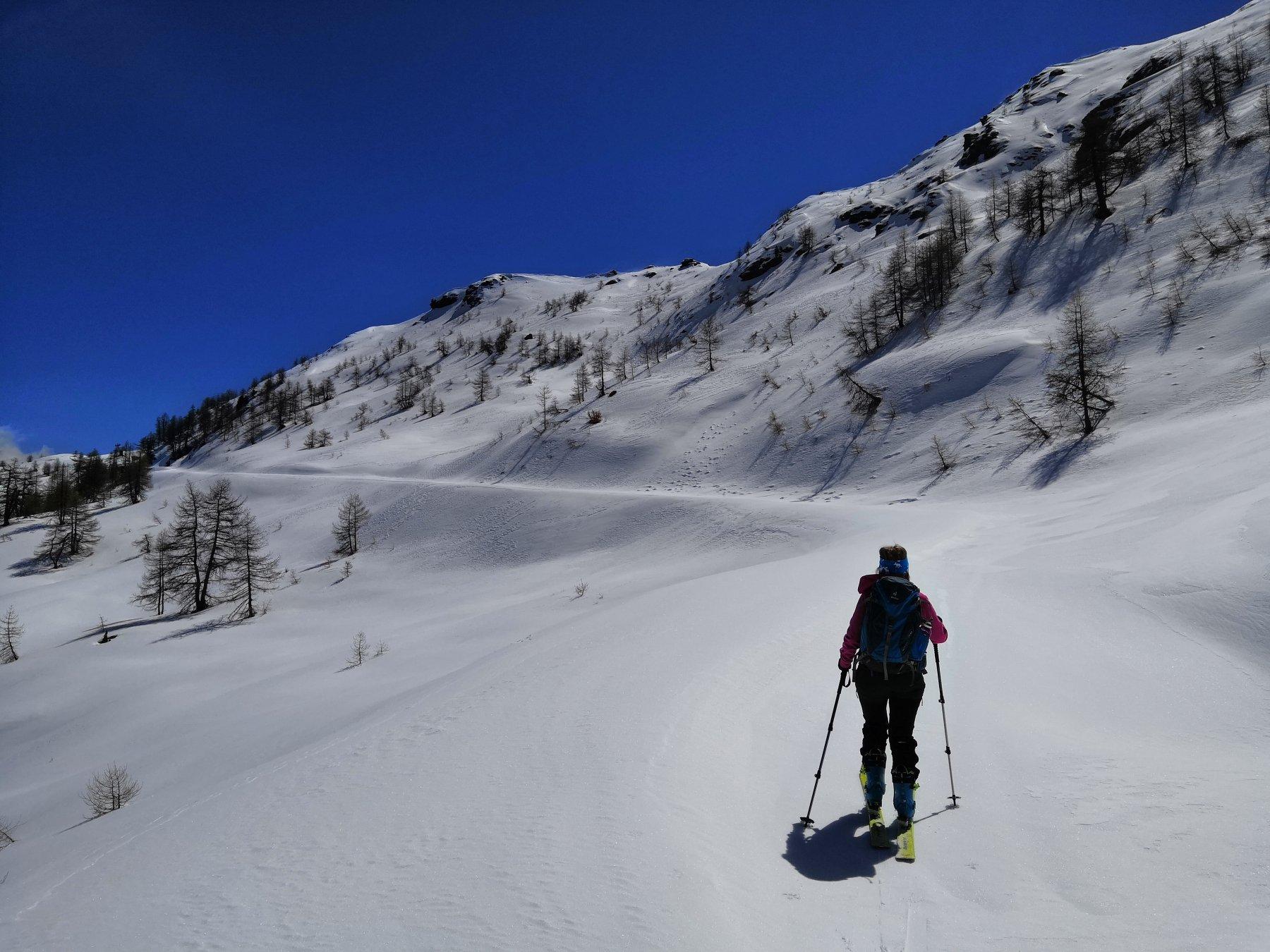 Sulla strada per l'arrivo dello skilift